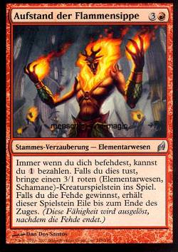 Aufstand der Flammensippe (Rebellion of the Flamekin)